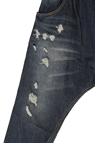 MatchLife - Pantalón - para mujer Style2-Navy Blau