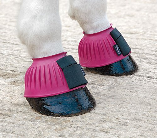 Shires Touch and Close Over Reach Boots rosa Rosa rrdxw4R