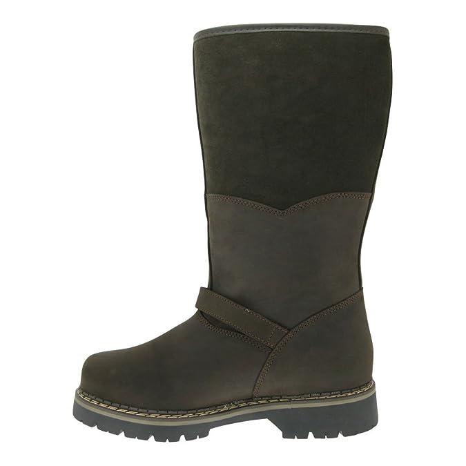 022b254c7b86 Gallux Herren Winterstiefel Jäger Leder gefütter Braun (Tirol Brown) EU 46   Amazon.de  Schuhe   Handtaschen