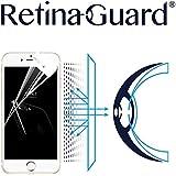 RetinaGuard iPhone7 ブルーライト90%カット保護フィルム (ホワイトベゼルタイプ)