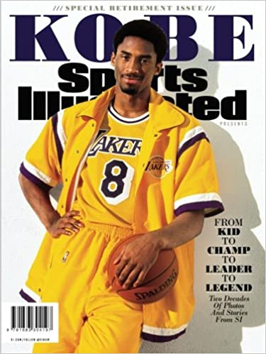 official photos 38e39 08c43 Amazon.com  Sports Illustrated Kobe Bryant Special Retirement Tribute  Issue  From Kid to Champ to Leader to Legend (9781683304197)  Sports  Illustrated, ...
