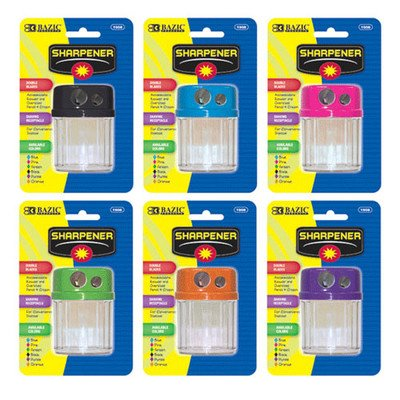 Dual Blades Sharpener with Round Receptacle Quantity: Case of 144