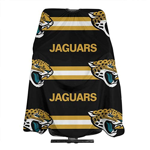 Sorcerer Design Haircut Cape Apron Jacksonville Jaguars Football Team Waterproof Cloth Salon Barber Cape Hair Cutting Cape Hairdressing Salon Cape Haircut Tools 55x66 Inches