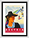 TRAVEL AUSTRIA ALPINE MOUNTAIN CHURCH STEP DRES FRAMED - Best Reviews Guide