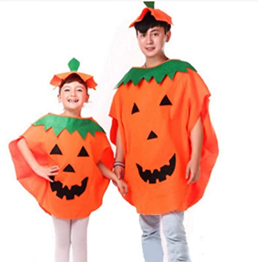 xuanyang524 Disfraz de Calabaza de Halloween Traje Ropa de Fiesta ...