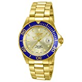 WATCH mens Amazon, модель Invicta Men's 14124 Pro Diver Gold Dial 18k Gold Ion-Plated Stainless Steel Watch, артикул B00ATUHGGW