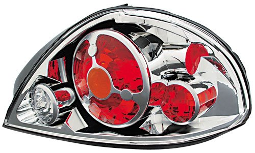 IPCW Pontiac Grand Am 1999 2000 2001 2002 2003 2004 2005 Tail Lamps, Crystal Eyes Crystal Clear-1 pair