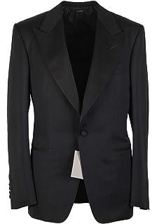 d556c784783d0 CL - Tom Ford Windsor Black Tuxedo Smoking Suit Size 58 / 48R U.S. Fit A