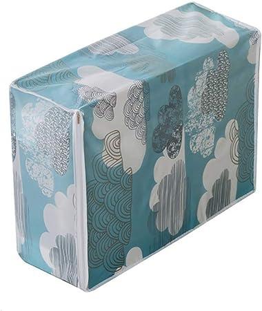 Bolsa de almacenamiento antihumedad para ropa, colcha con cremallera, organizador de coleccionismo 55cm x 36cm x 20cm 4#: Amazon.es: Hogar