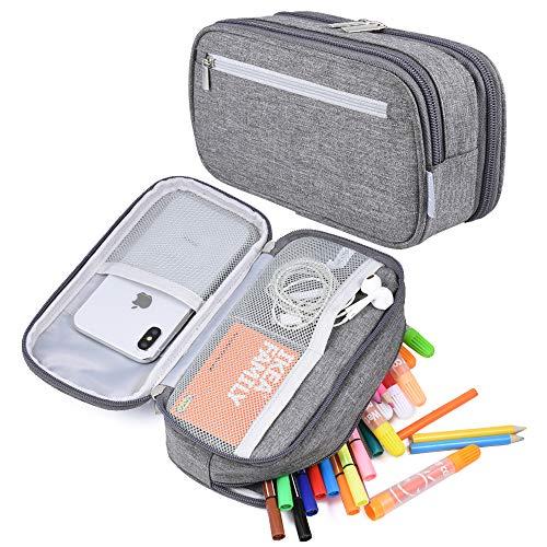Large Capacity Pencil Case Pen Case Pencil Bag Pouch Holder...