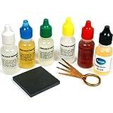 Test Kit 10K 14K 18K 22K Gold Silver Platinum Stone Test Needles and Basic Instructions