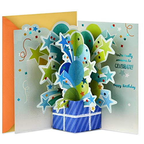 Hallmark Paper Wonder Pop Up Birthday Card (Someone to Celebrate)