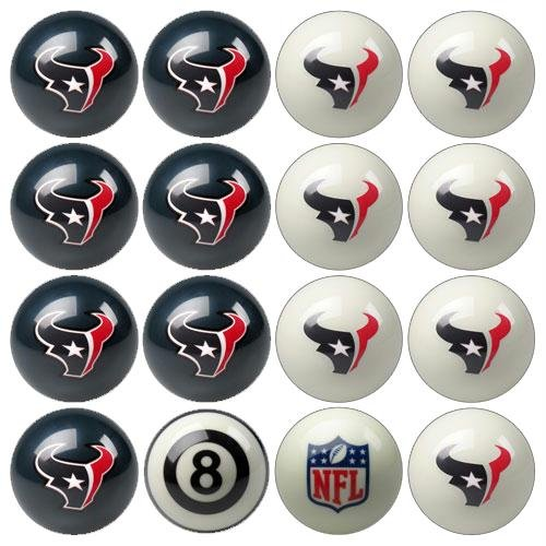 Imperial Billiards IMP-50-1134 Houston Texans NFL 8-Ball Billiard Set by Imperial