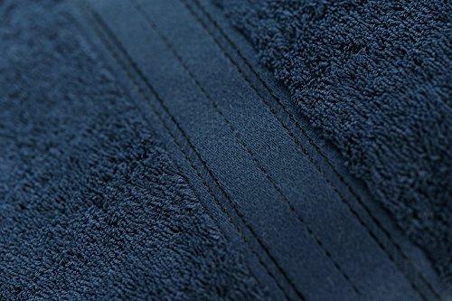 Asciugamano 100 Dimensioni Offerta stuoia naturelle Da Bagno X Linea Cm Marino 200 Blu 6Eq0p