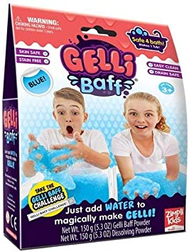 Colour Change Gelli Baff Blue//Purple /& Yellow//Green Bundle 2 Items Zimpli Kids