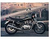1978 1979 Kawasaki KZ750 Motorcycle Factory Photo