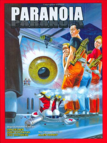 Paranoia (RPG Rulebook) (Best Sci Fi Rpg)