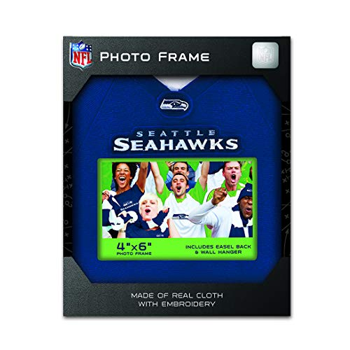 (MasterPieces NFL Seattle Seahawks Uniform Photo Picture Frame)