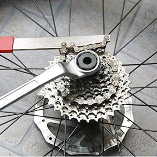 Saikogoods 新しいMTBマウンテンバイク自転車フリーホイールカセットリムーバーメンテナンス修理ツール新しいブランド ブラック