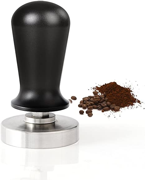 Stainless Espresso Coffee Tamper Press Tool 49mm//51mm//57.5mm//58mm Heavy Duty