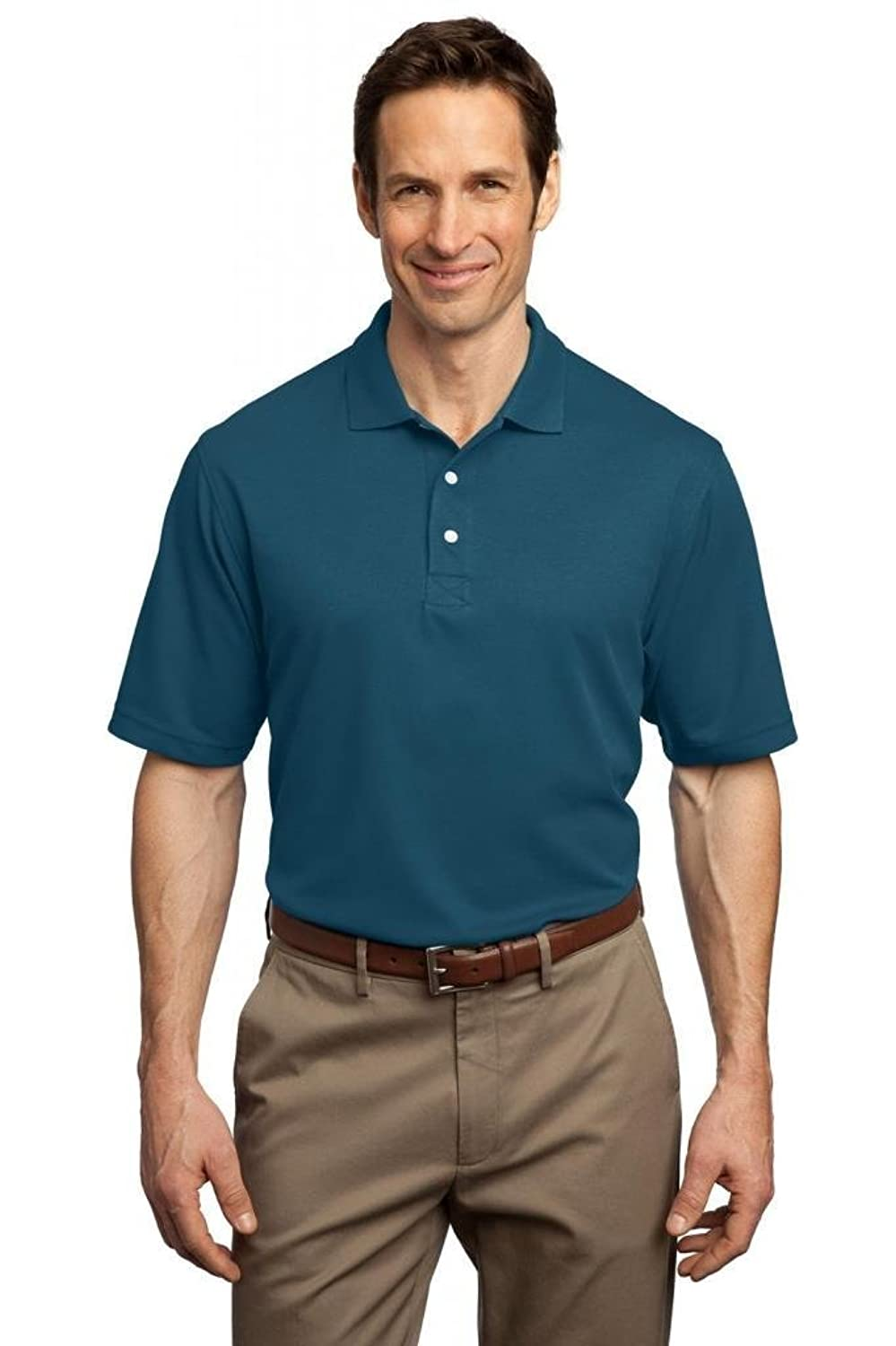 Port Authority Men's Tall Rapid Dry Polo XLT Moroccan Blue