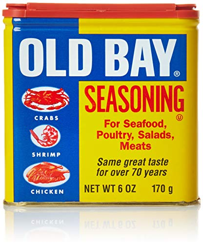 OLD BAY Seasoning, 6 oz - Peppers Crab Blue