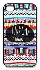 Hakuna Matata Iphone 4/4s Case Plastic Hard Phone Case-iphone 4