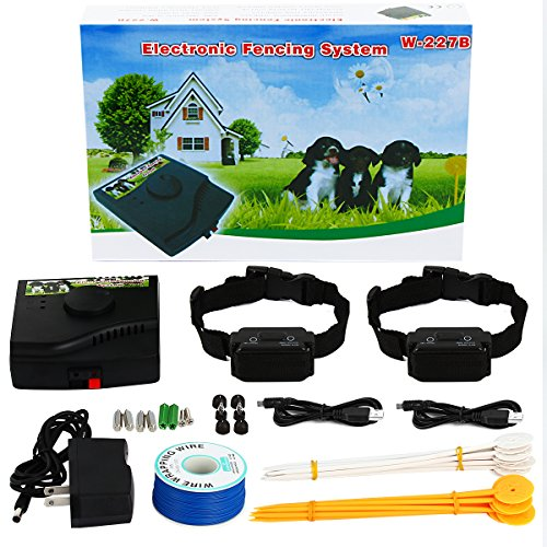 underground-2-dog-fence-wired-containment-system-waterproof-rechargeable-customizable-1000-ft-wire-d