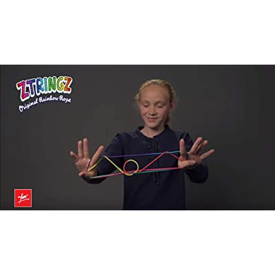 ZTRINGZ - Original Rainbow Rope - Multicolored: Toys & Games