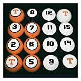 Tennessee Volunteers Vols UT Billiard Pool Ball Set