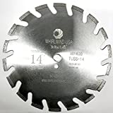 Whirlwind USA TUSS 14 inch U Slot Laser Welded Dry or Wet Power Saw Segmented Masonry Diamond Blades (Factory Direct Sale) (TUSS 14'')