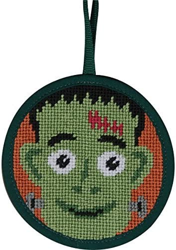 Alice Peterson Stitch-Ups Frankenstein Needlepoint Ornament Kit