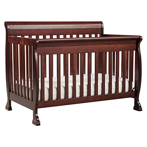 DaVinci Kalani 4 In 1 Convertible Crib, Rich Cherry