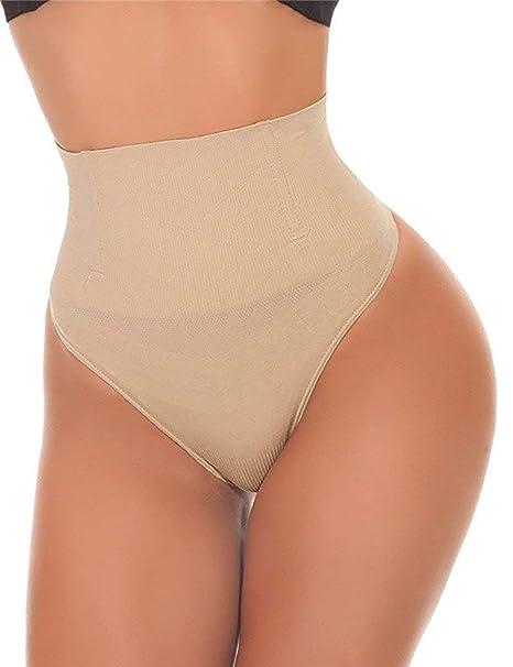 63240a2d888cf NINGMI Thong Shapewear Butt Lifter Women High Waist Trainer Tummy Control  Panties Knicker Slimming Underwear Cincher