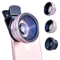 LIEQI JAPAN 広角レンズ iphone セルカレンズ スマホ 自撮り iphone8 8plus iphonex iphonexs xsmax 対応 LQ-027