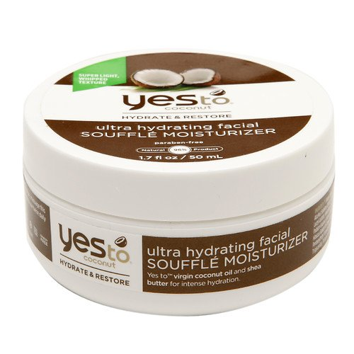 Yes to Coconut Ultra Hydrating Facial Souffle Moisturizer 1.7 oz By Coconut Moisturizer
