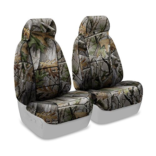Coverking Front 50/50 Bucket Custom Fit Seat Cover for Select Jeep Compass Models - Neosupreme Next Camo (Vista)