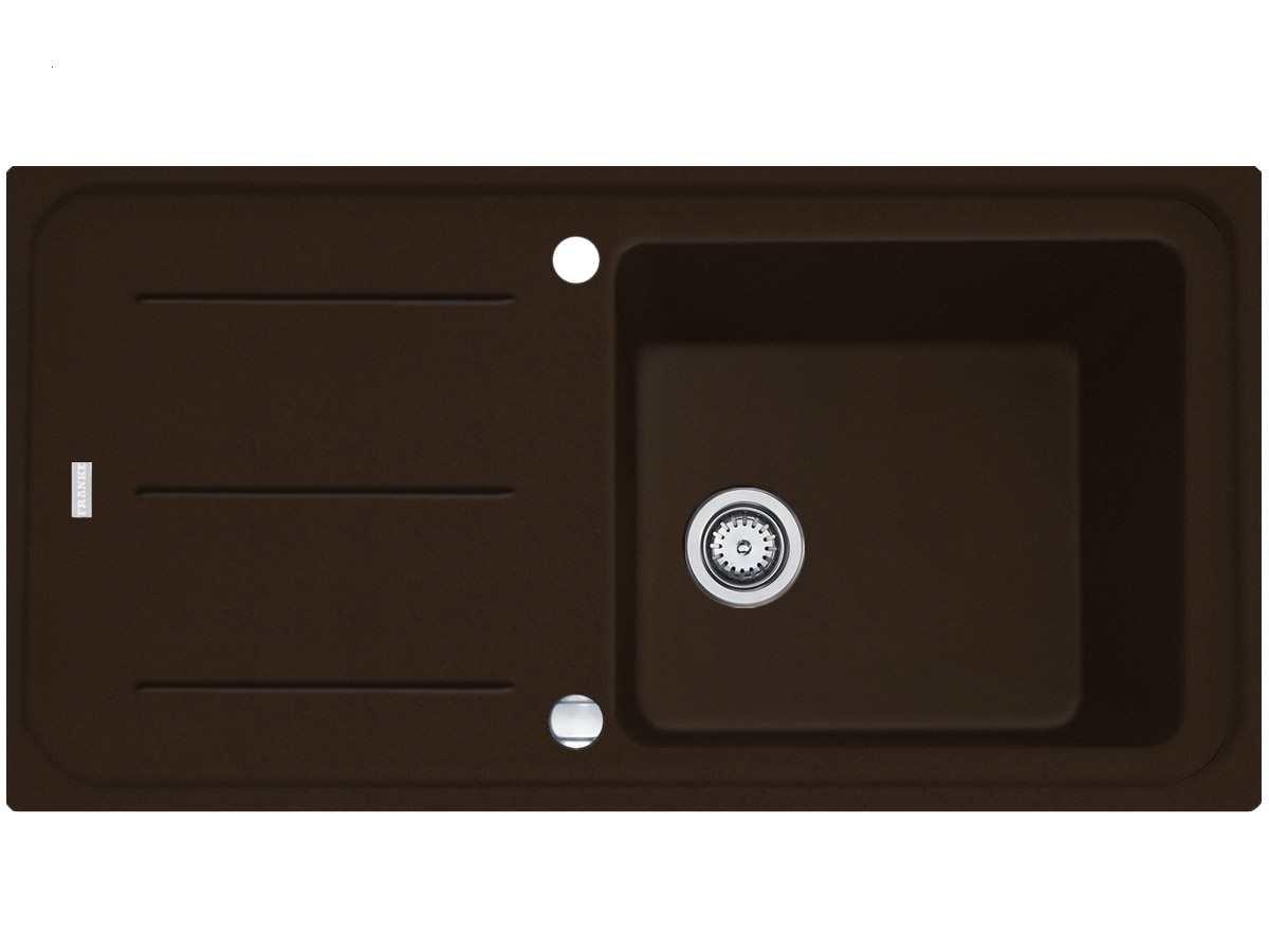 Franke Impact G IMG 611-100 G Chocolate Granit-Spüle Braun ...