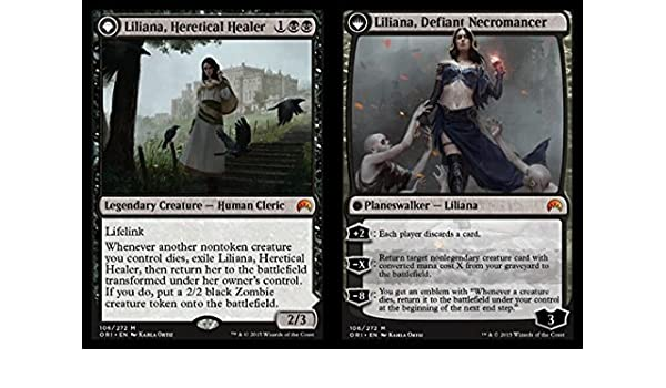 Magic: the Gathering - Liliana, Heretical Healer // Liliana ...