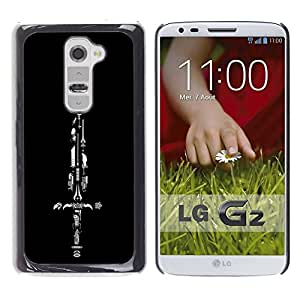 Be Good Phone Accessory // Dura Cáscara cubierta Protectora Caso Carcasa Funda de Protección para LG G2 D800 D802 D802TA D803 VS980 LS980 // Sword Collection