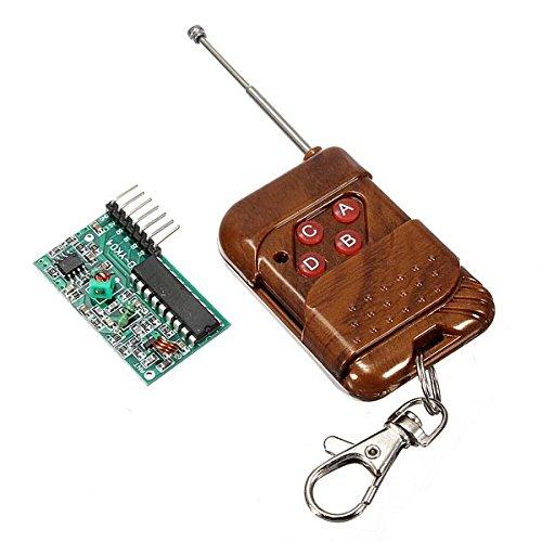 hitsan 5pcs IC2272315MHz 4canales inalámbricos RF control remoto una pieza