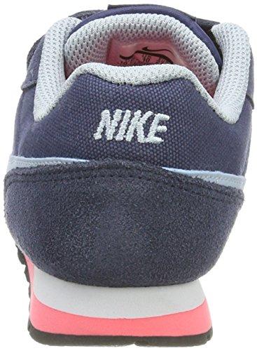 Nike Mädchen MD Runner 2 Gpv Sneaker Blau (Thunder Blue/Lt Armory-White-Black)