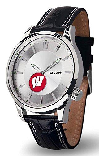NCAA Wisconsin Badgers Icon Watch, Black