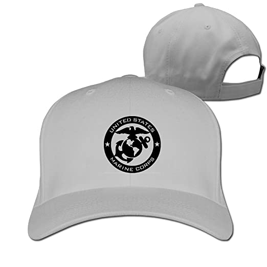 baff497b491 Eagle Globe Anchor USMC Marine Corps Baseball Cap Hat Class Hat Sports Hat  Peaked Cap