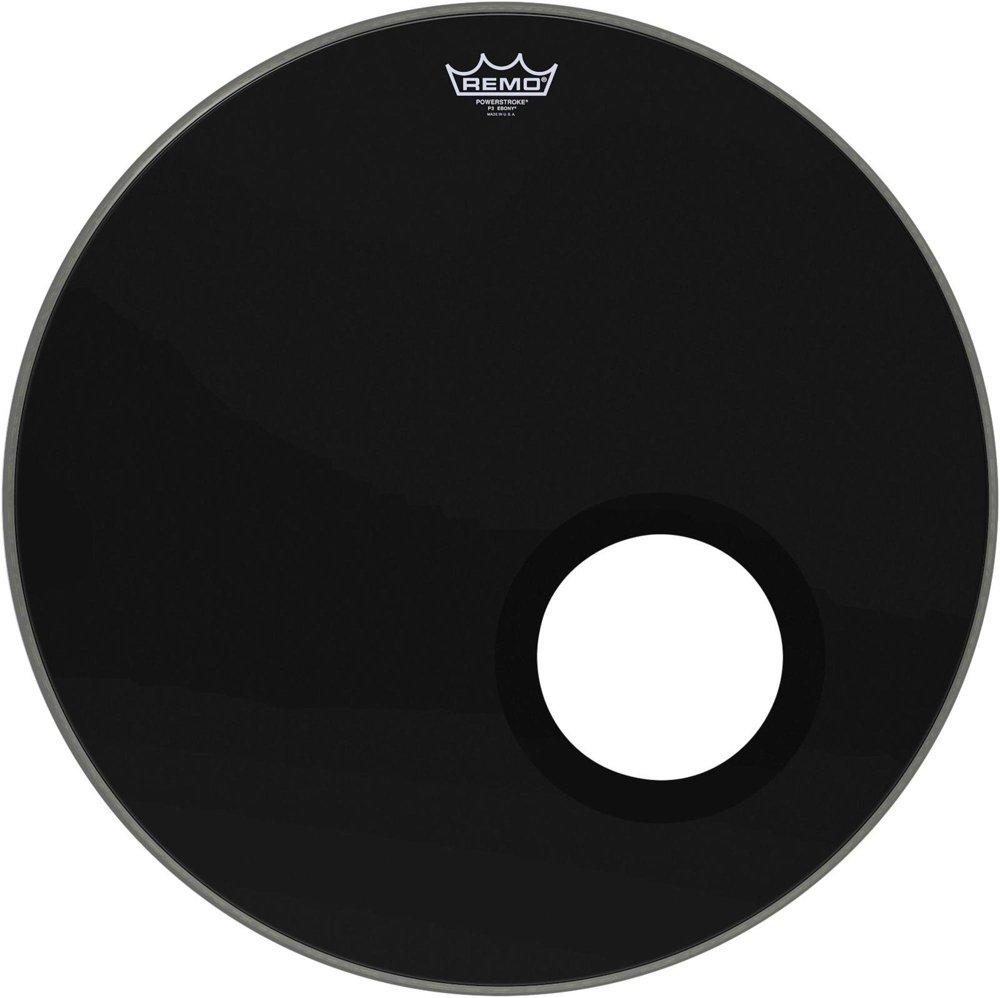 Remo Powerstroke P3 Ebony Bass Drumhead - 5