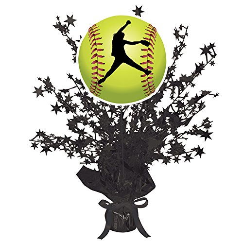 FASTPITCH SOFTBALL CENTERPIECE (EACH) by Partypro ()