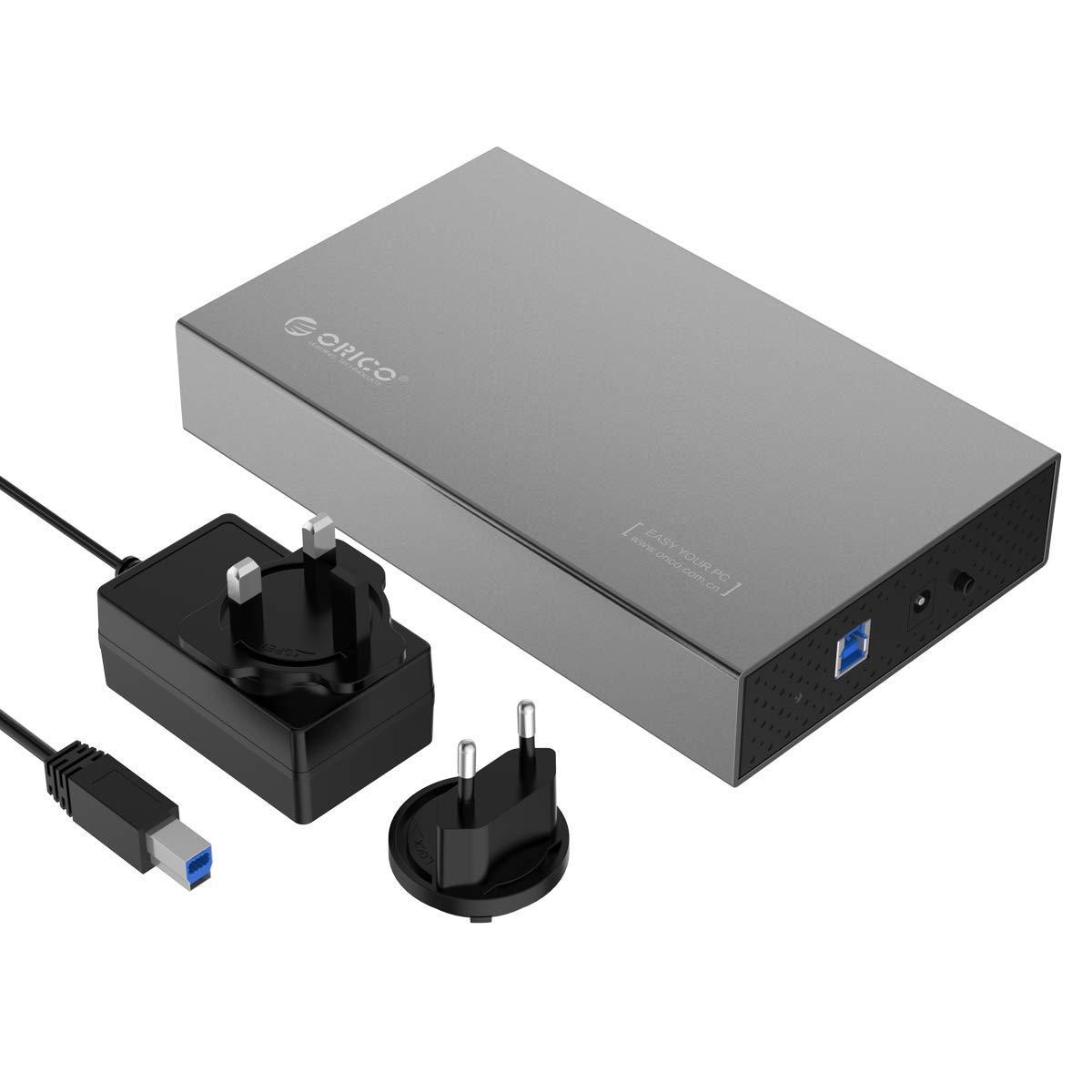 Orico Caja de aluminio para disco duro USB 3.0 con UASP para ...