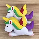 Uspeedy Cute Squishies Slow Rising Soft Squishies Charms Toy for Stress Relief and Time Killing