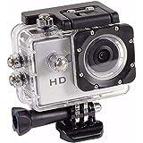 Câmera filmadora sports radicais hd carro bike moto mini