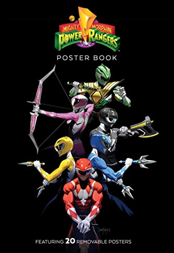 Mighty Morphin Power Rangers Poster Book
